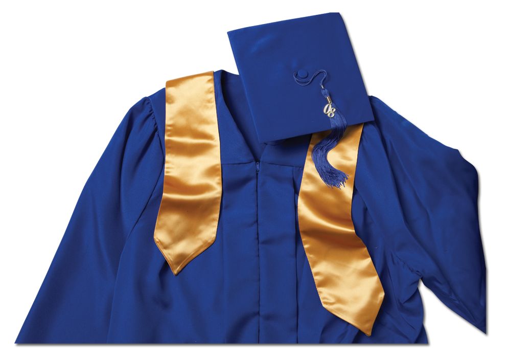 Graduation cap and gown png. Senior portraits orders excelsior