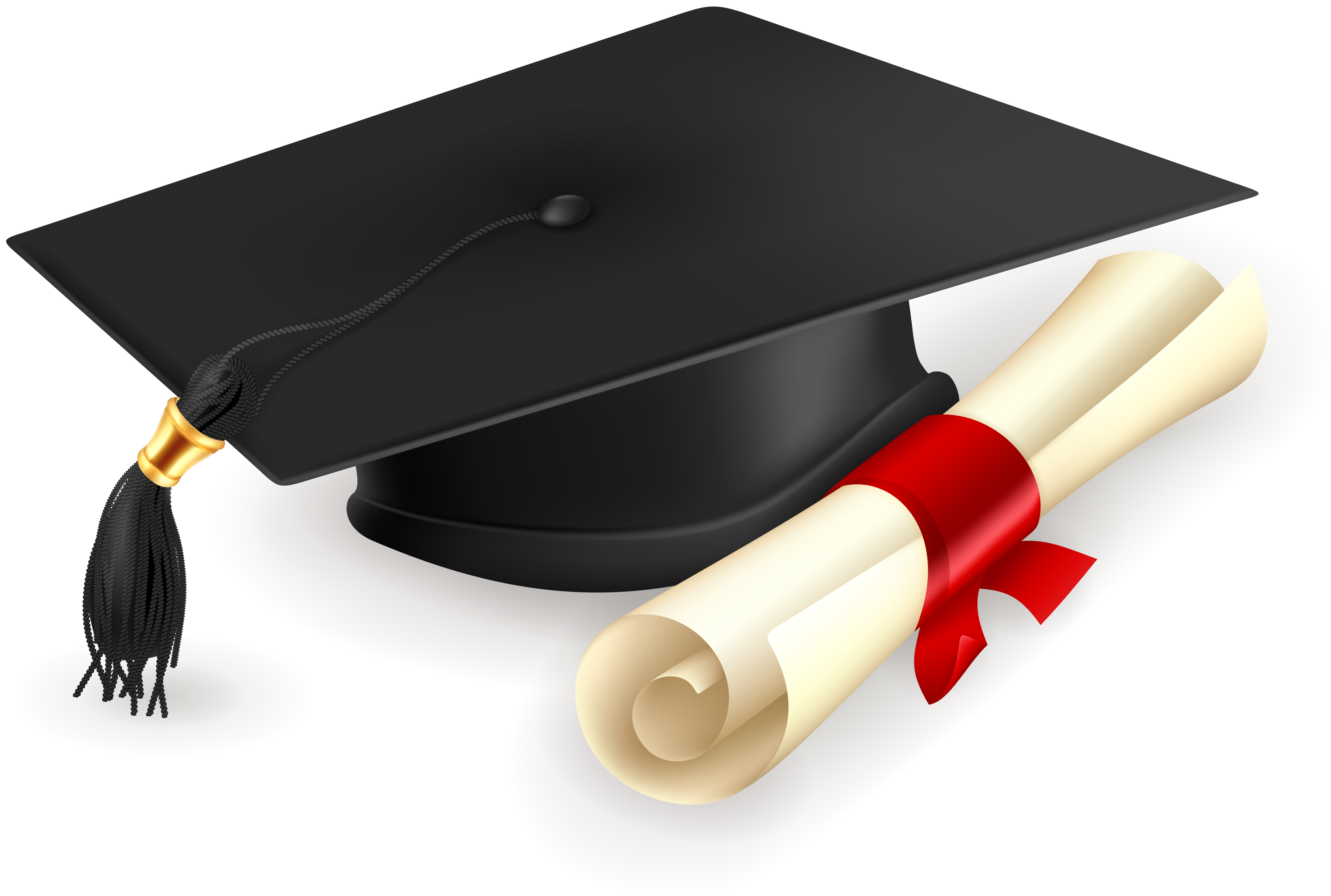 Graduation cap and gown png. Clipart download wallpaper picture