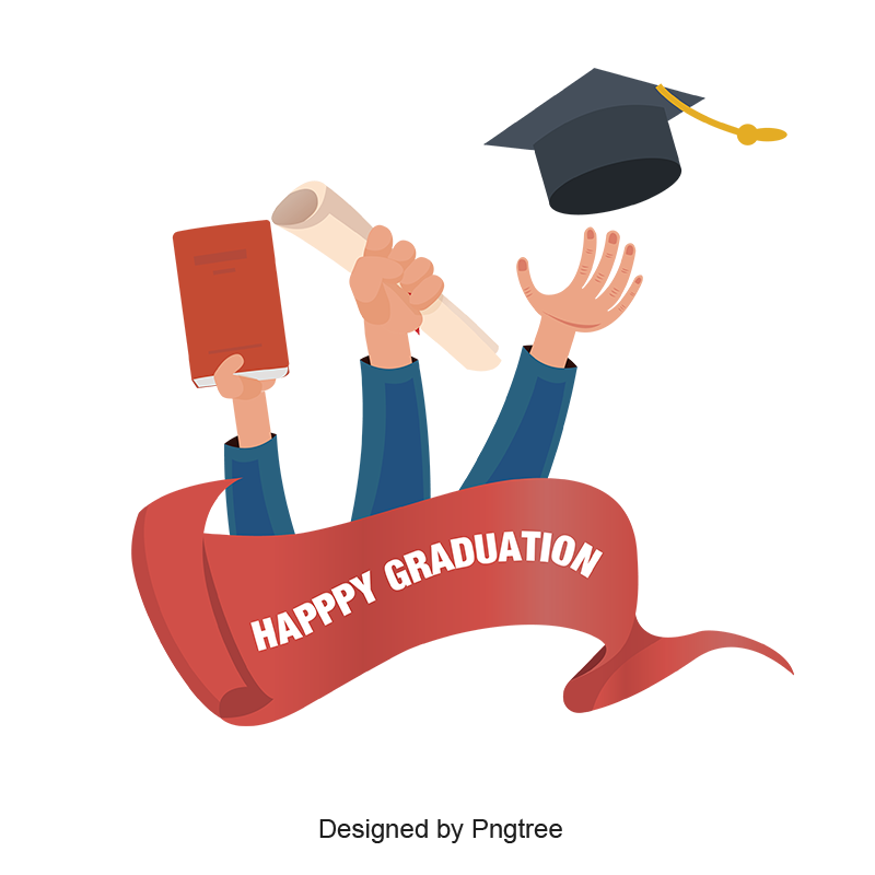 Graduation png images. Happy education celebration and