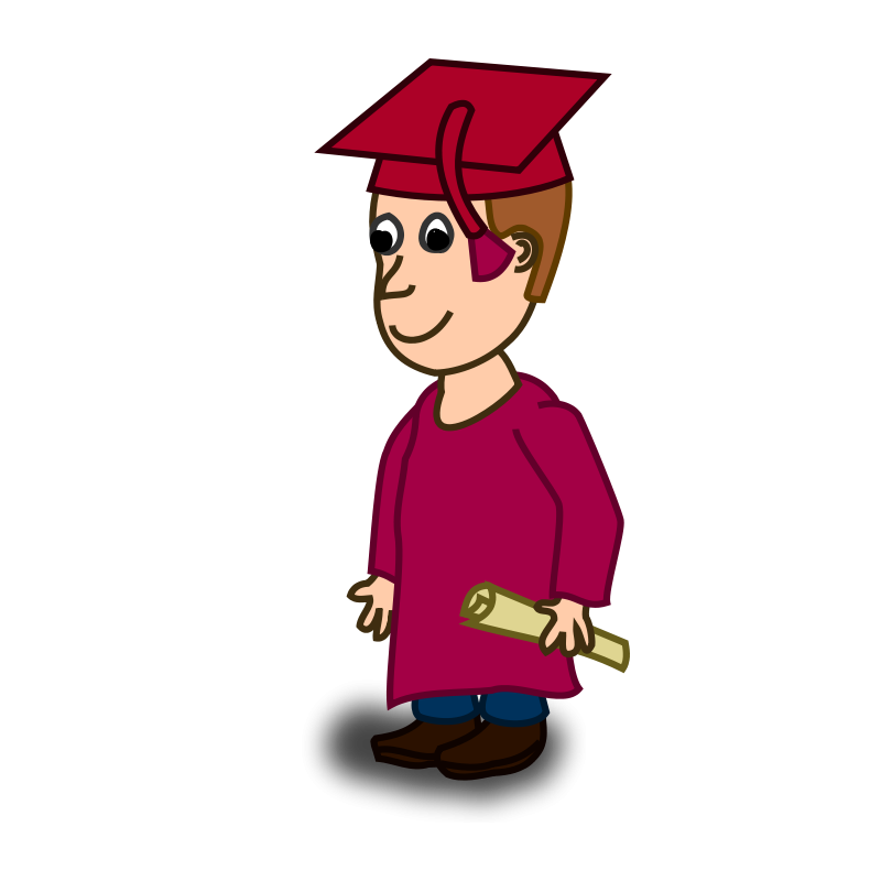 Graduate clipart proud graduate. Free graduation education graphics