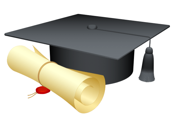 Graduation hat vector png. Hosting a party on