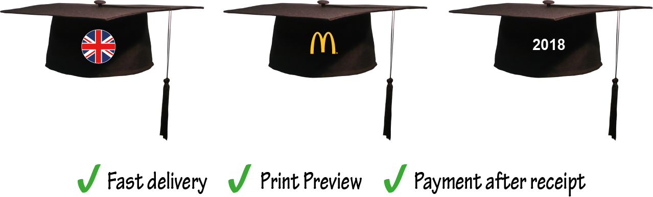 Graduation hats in the air png. Square caps mortar boards
