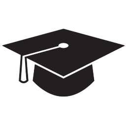 Graduation icon png. Black free icons and