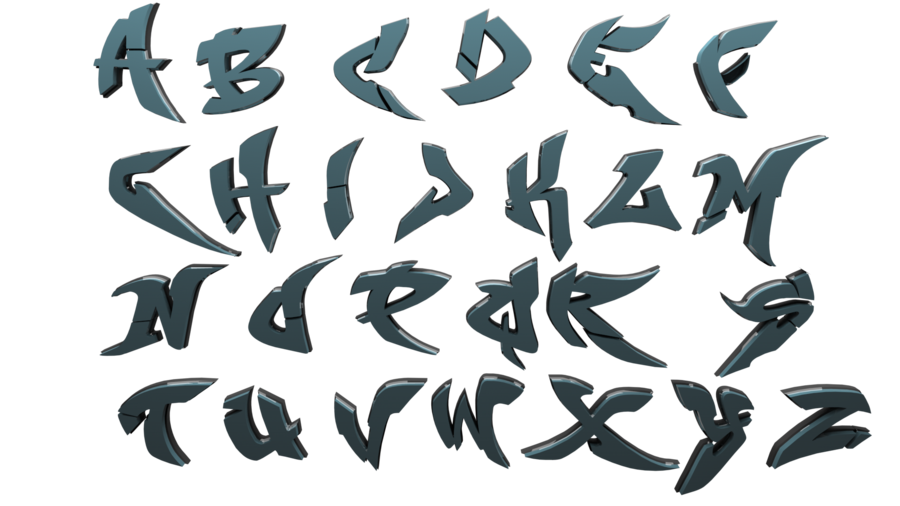 dripping letters png