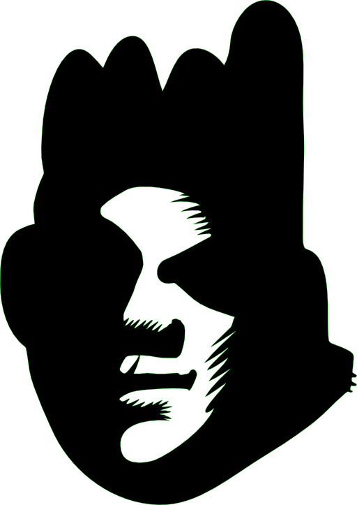 Graffiti clipart man. Black face i royalty