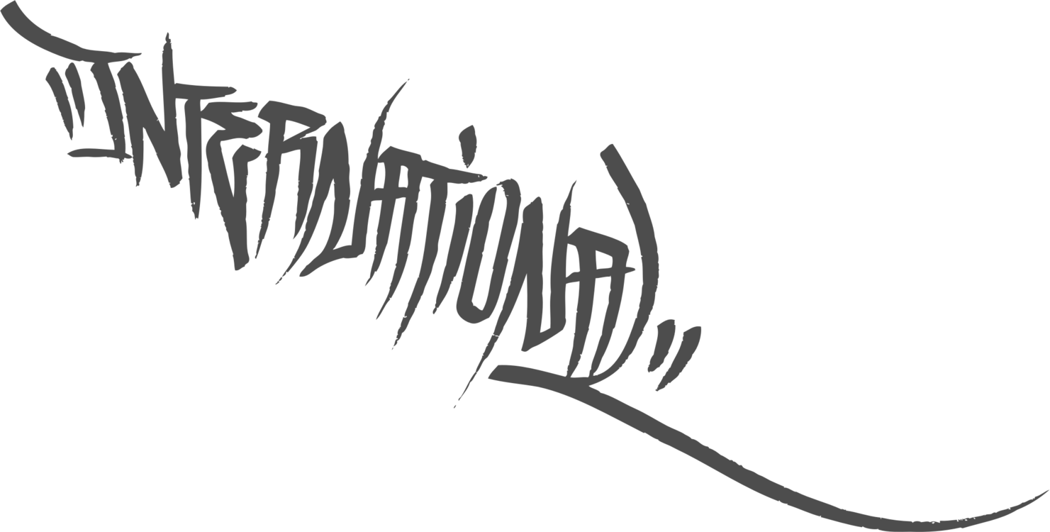 L clipart calligraphy. Logo graffiti handstyle tag