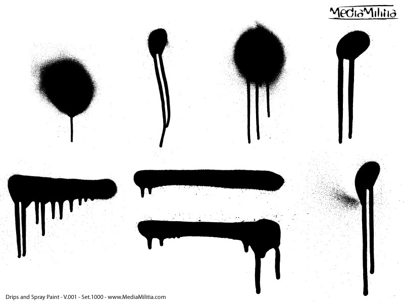 Graffiti clipart drip. Spray paint pencil and