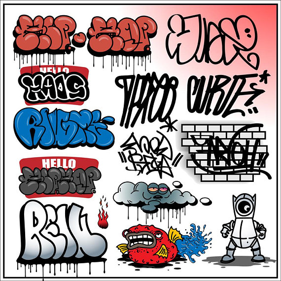 Graffiti clipart graffiti artist. Street art aerosol spray