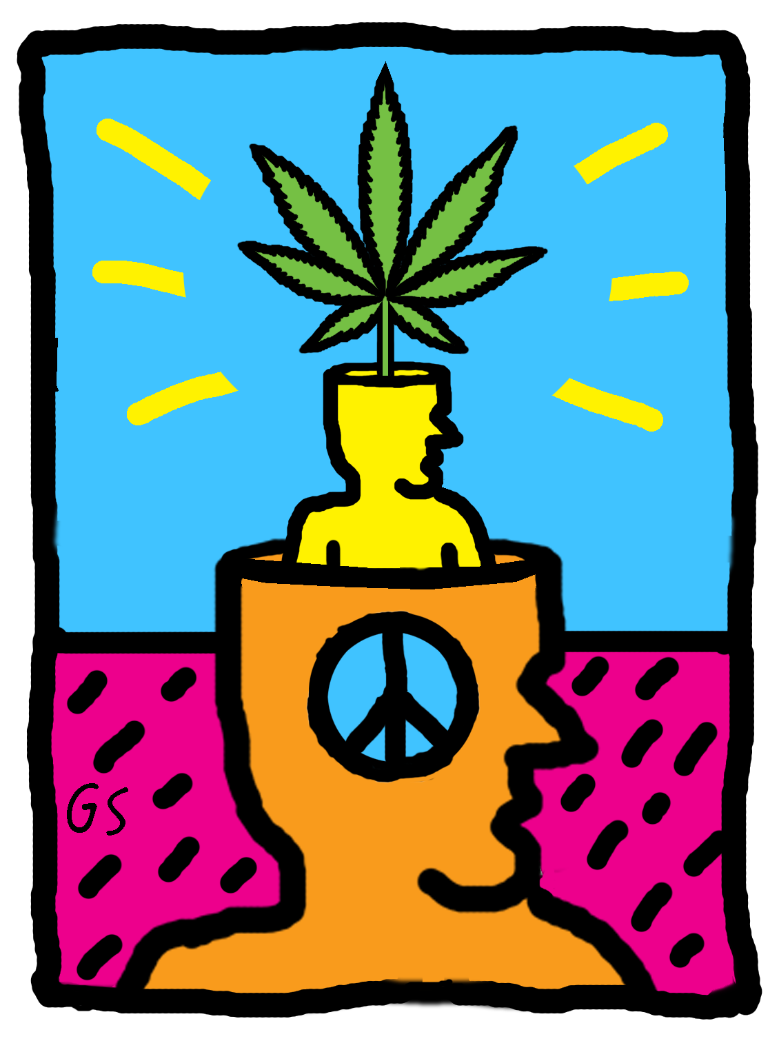 Graffiti clipart peace. Expand your mind posters