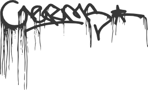 Graffiti drip png. Central germs