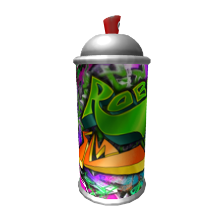 Spray paint can png. Roblox