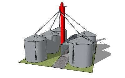 grain clipart grain storage