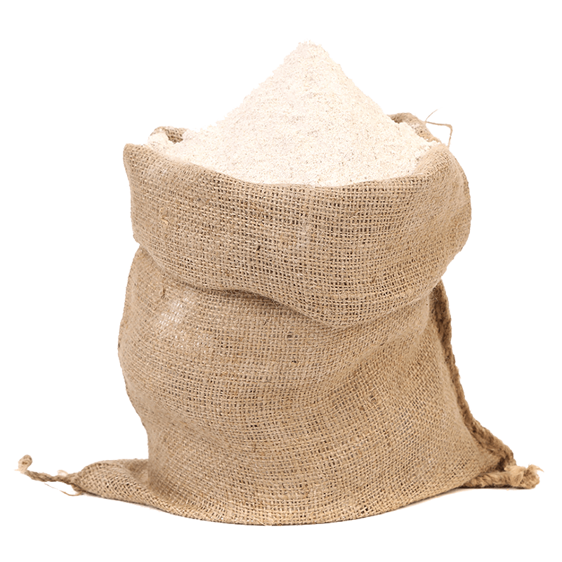 Grain sack png. Stoneground wholemeal plain flour
