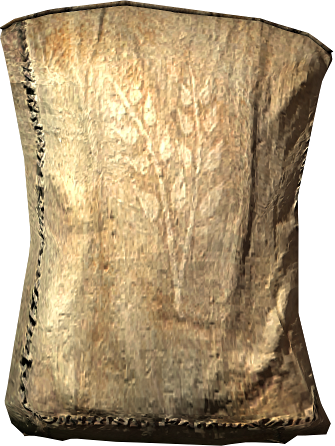 Grain sack png. Of flour elder scrolls