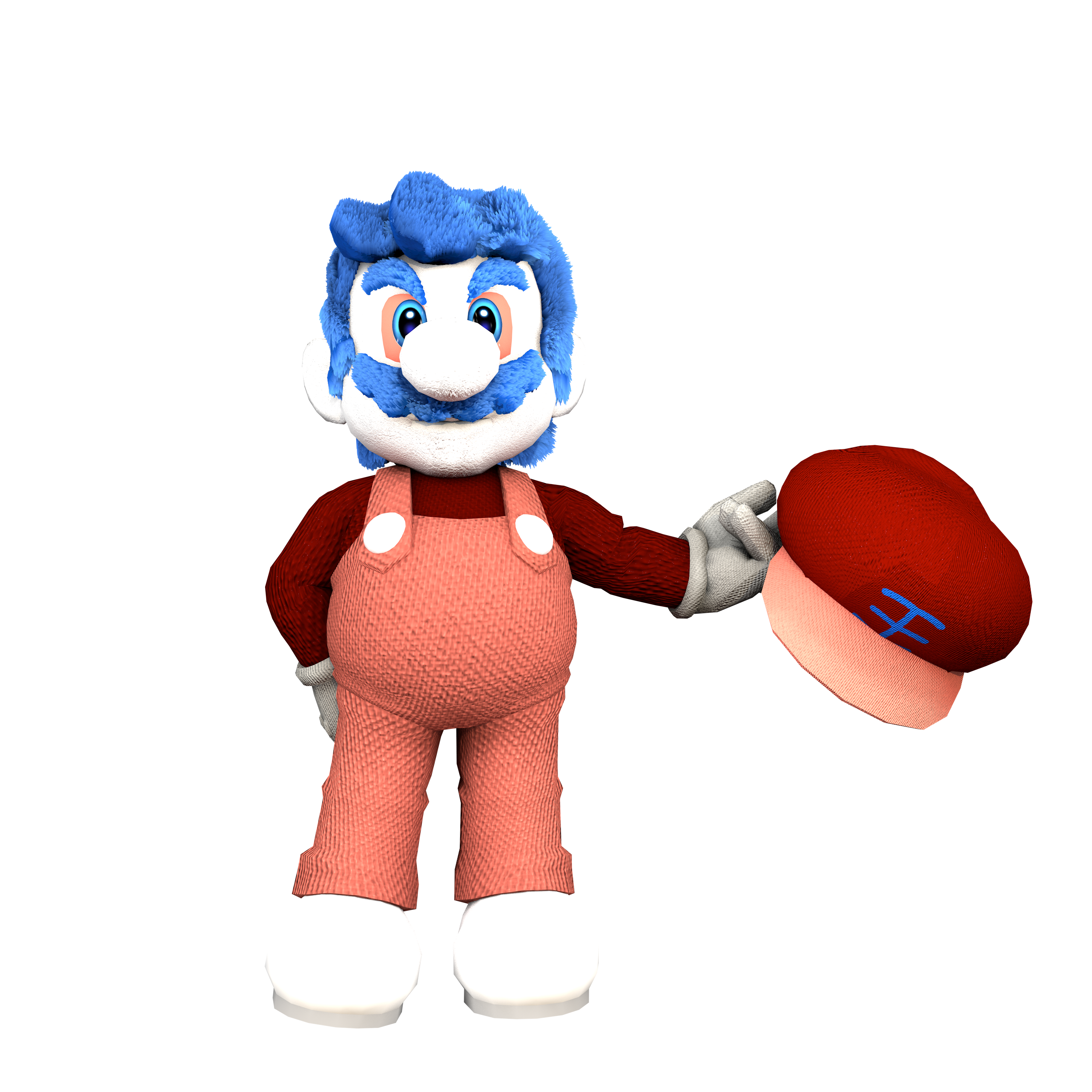 Grand dad 7 png. D high quality model
