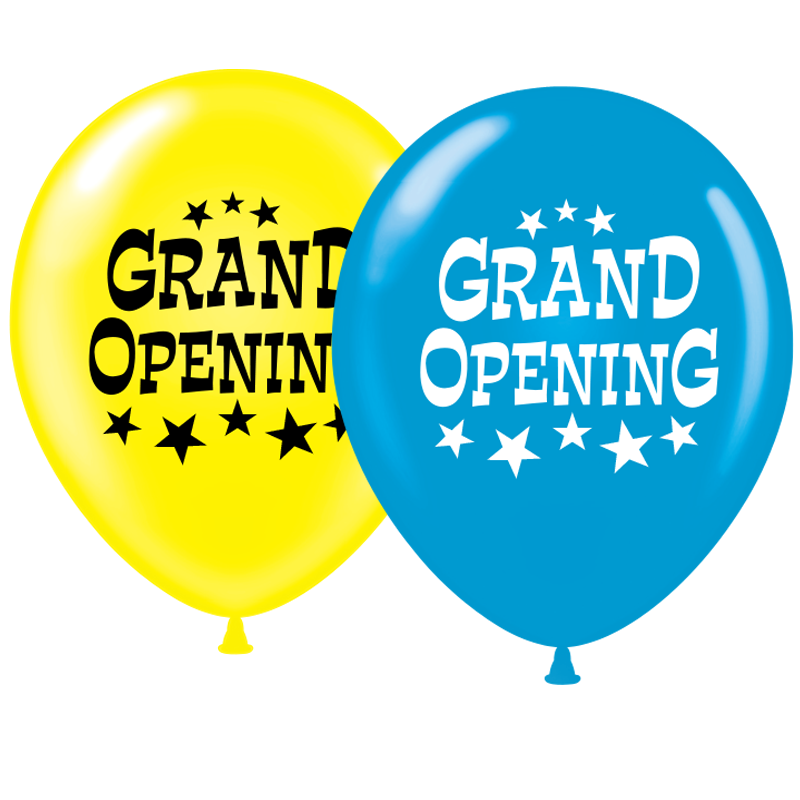 Grand opening balloons png. Image