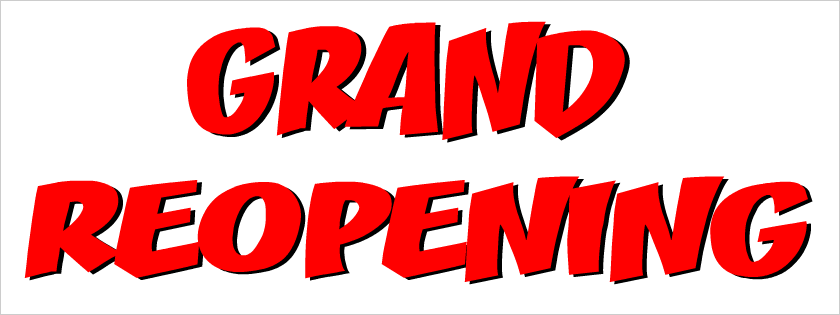 Grand opening banner png. Re vinyl banners from