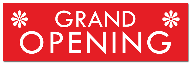 Grand opening banner png. Index of wp content