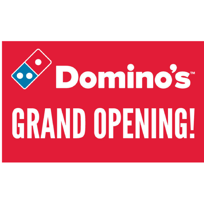 Grand opening banner png. Dddomino s
