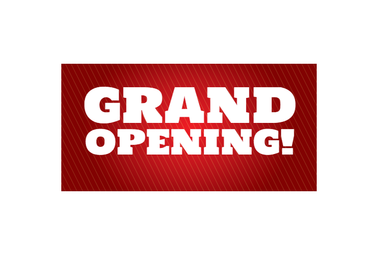 Grand opening banner png. Signitup com clipart