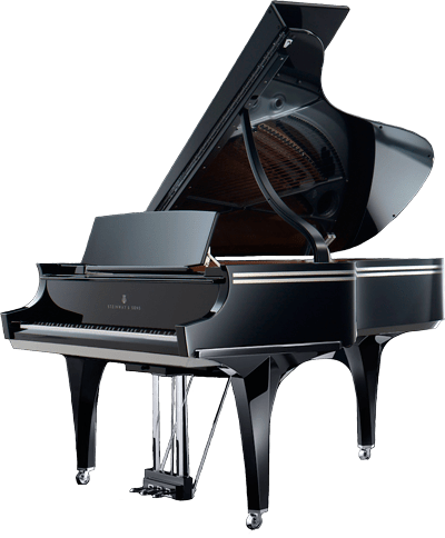 Grand piano png. Steinway sons transparent stickpng