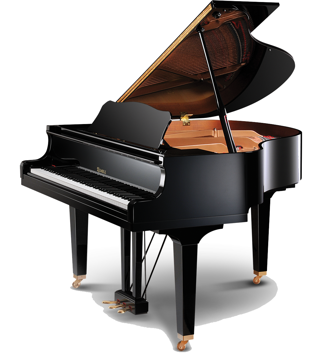 Grand piano png. Transparent images all clipart