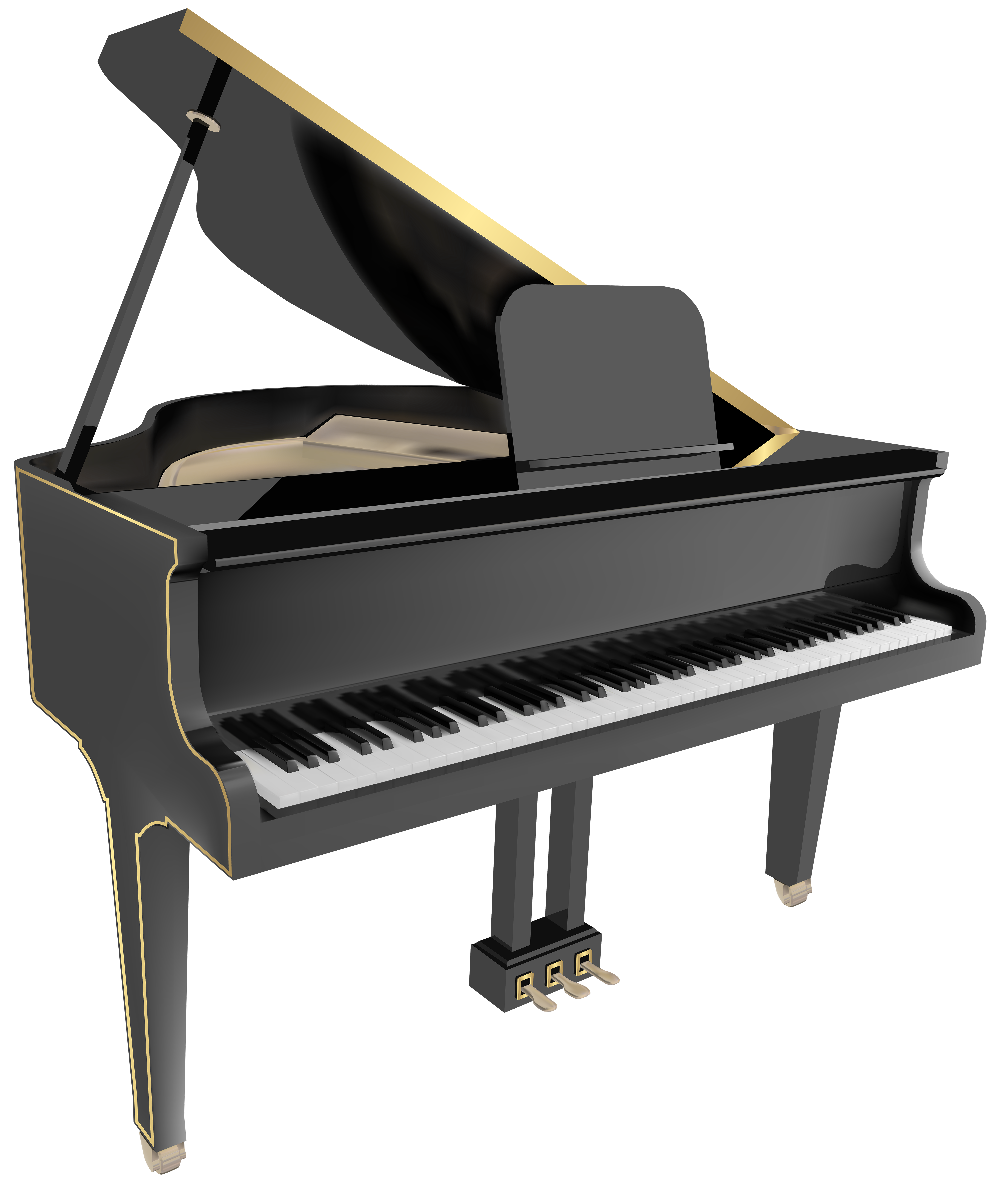 Grand piano png. Clip art image gallery