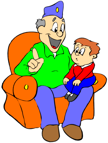 Grandfather clipart grandkid. Grandchildren clip art free