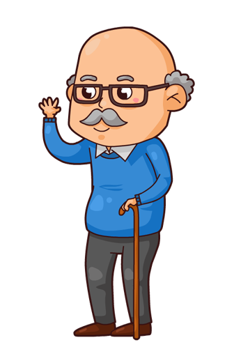 Grandfather clipart granfather. Clip art is panda