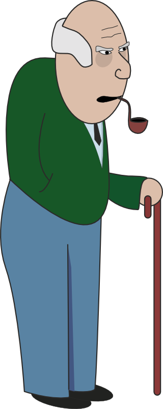 Grandfather clipart granfather