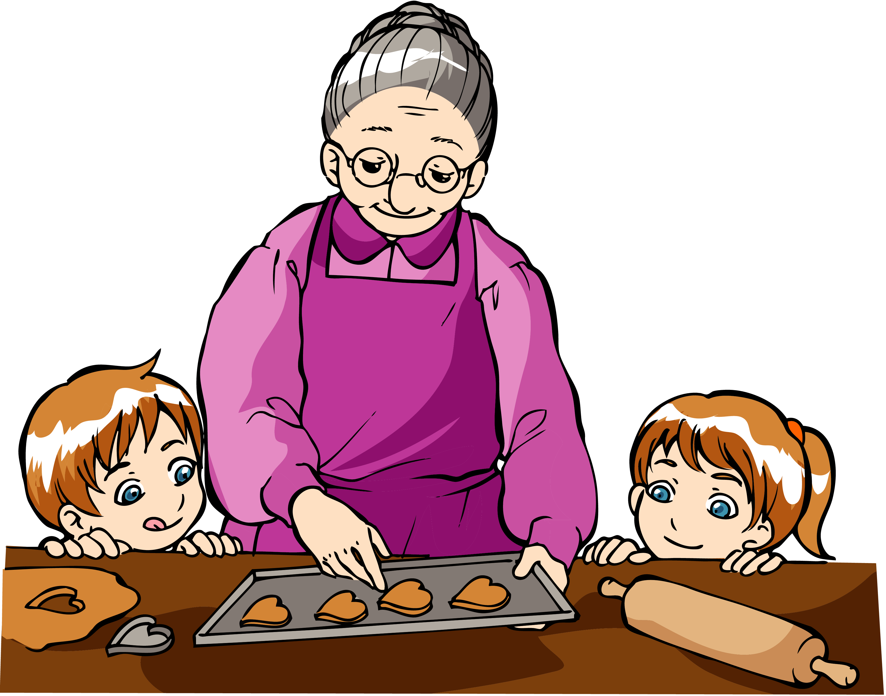 grandmother clipart granddaughter quote