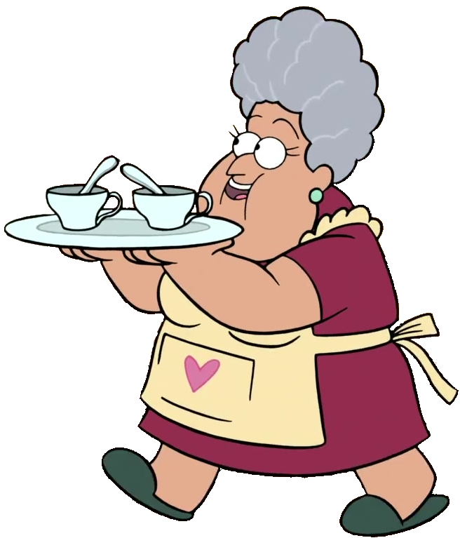 Image soos appearence gravity. Grandma png clip art black and white