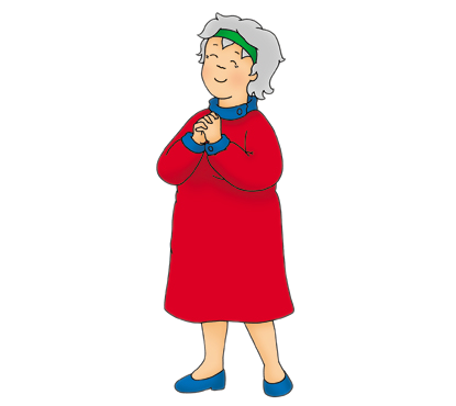Image caillou wiki fandom. Grandma png clipart library library