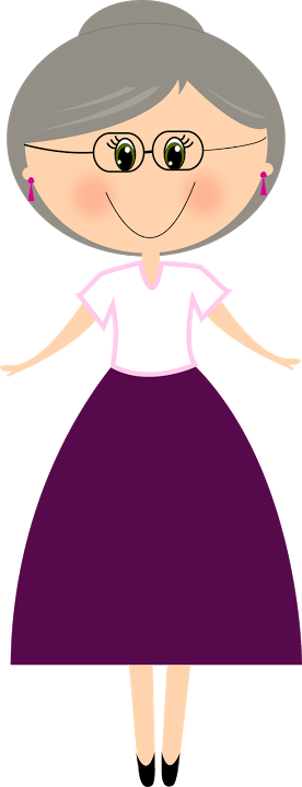 Grandmother clipart islamic. Vov d a abuelos