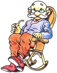Grandparents clipart aged. Laurie furnell senior moments