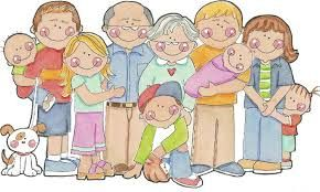 Grandparents clipart extended family. Image result for black