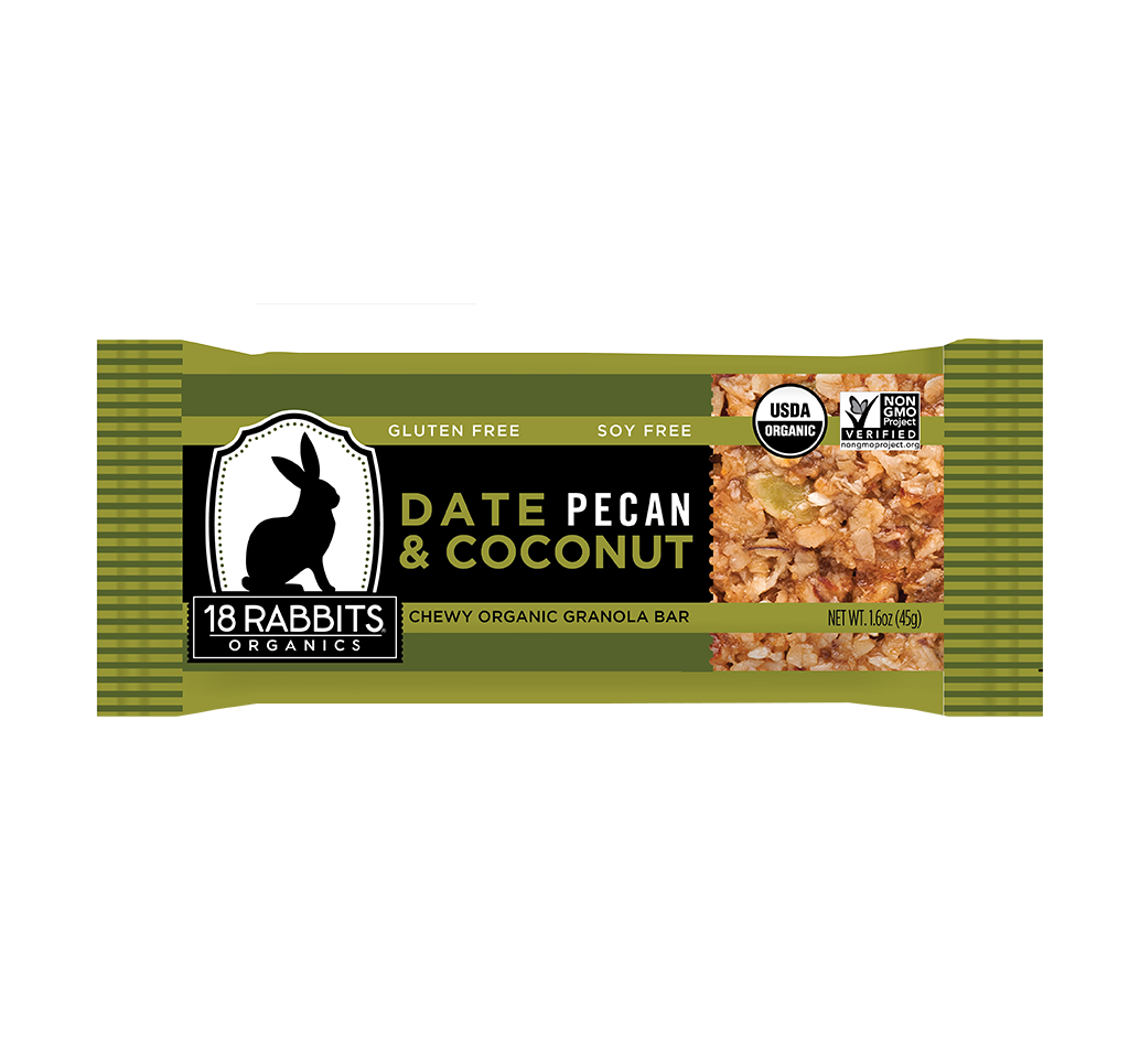 Granola bar png. Date pecan coconut bars