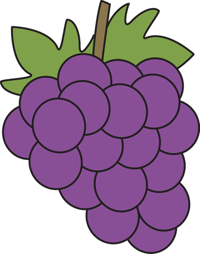 Grape clipart. Free grapes preschool pinterest