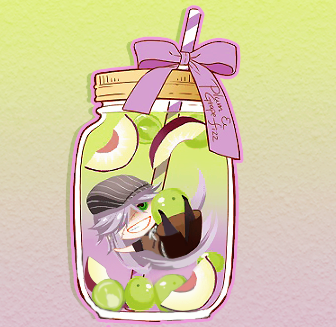 Grapes clipart chibi. Black butler funtomscandy cafe