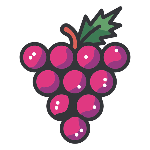 Grapes vector png. Cluster icon transparent svg