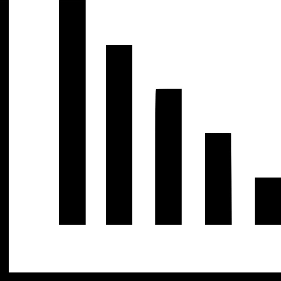 Graph bars png. Svg icon free download