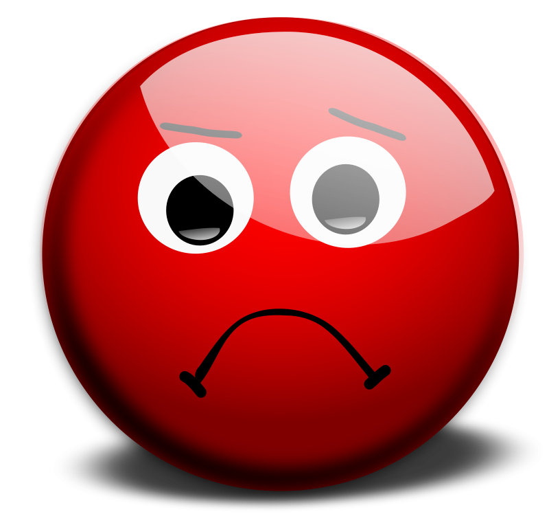 Sad clipart brain. Free stressed smiley face
