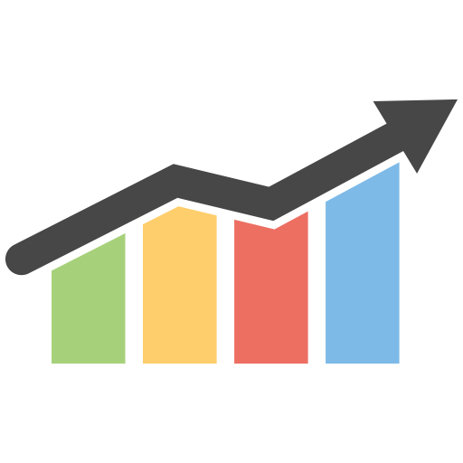 Graph icon png. Infographic bar vol by