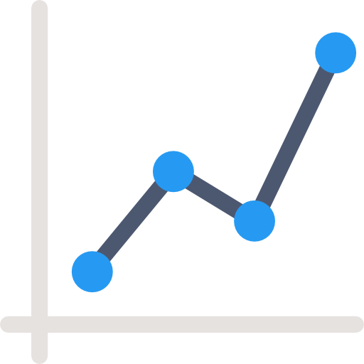 Graph line png. Connection business statistics chart