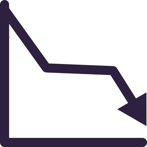Graph line png. Icon svg