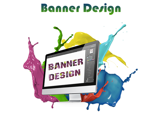 Graphic design banner png. Web development company in