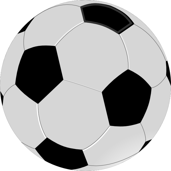 Soccer ball clipart small. On grass panda free