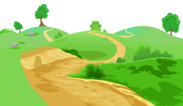 Grass and transparent png. Pathway clipart my way png stock