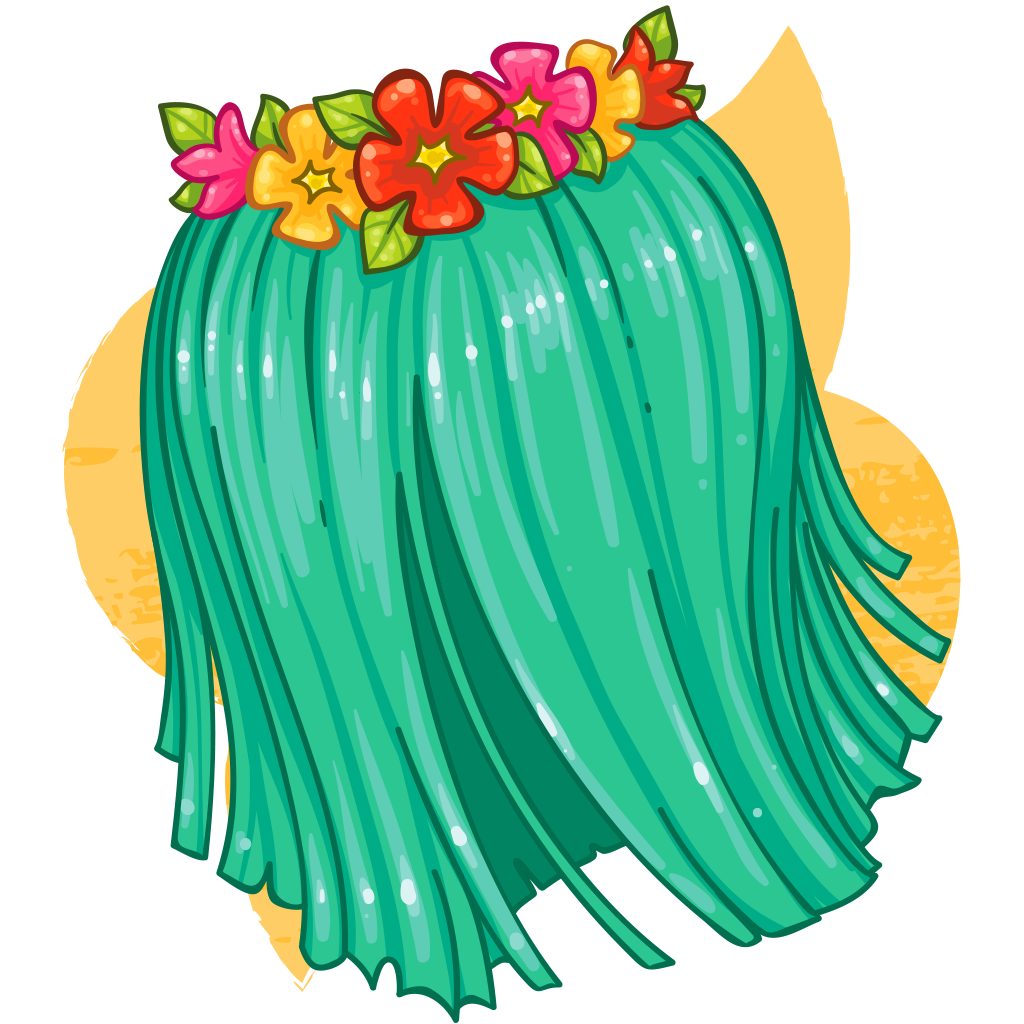 Grass skirt png. Item detail itembrowser find