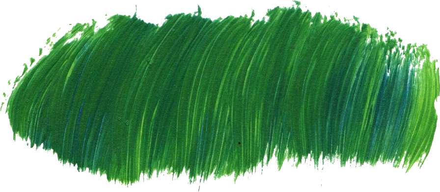 Grass stain png. Green paint brush